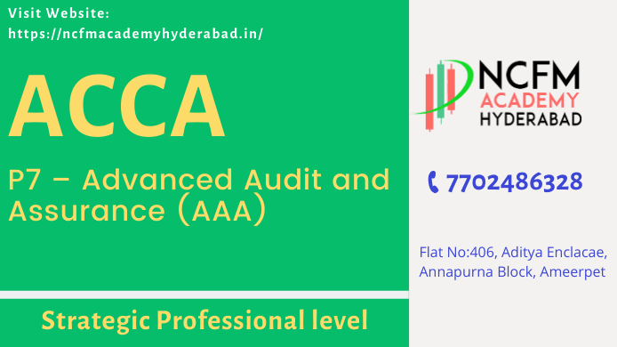 ACCA Course in India Hyderabad Ameerpet