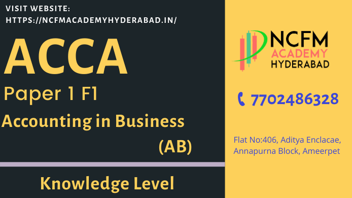 ACCA training in Hyderabad Ameerpet